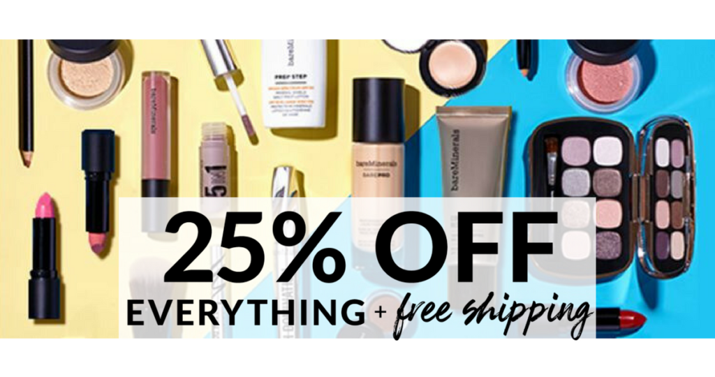 bareMinerals Fantastic Savings 25% off Everything
