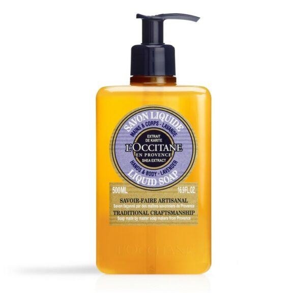 01SL500LV20 Shea Lavender Soap 500ml