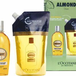 l occitane almond shower oil and refill duo