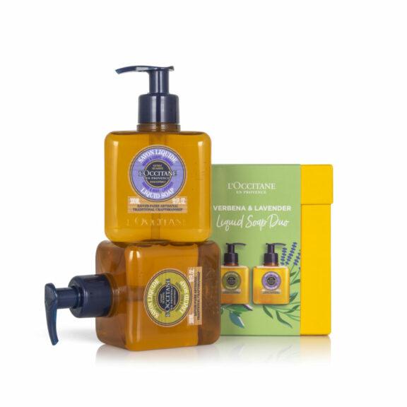 95LW0389 Verbena & Lavender Liquid Soap Duo (1)